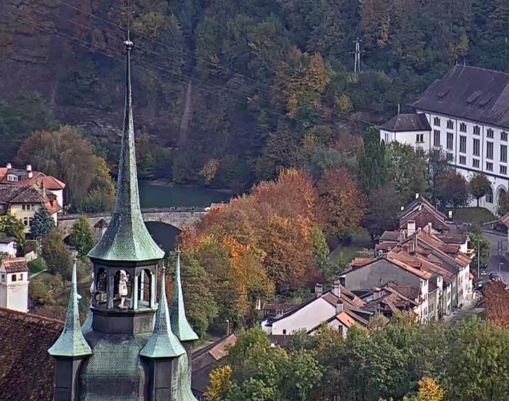 Fribourg, live webcam